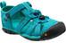 Keen Seacamp II CNX teenslippers Kinderen turquoise